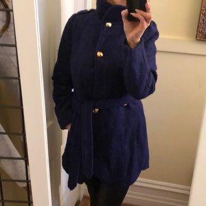 Bebe cobalt blue coat M New